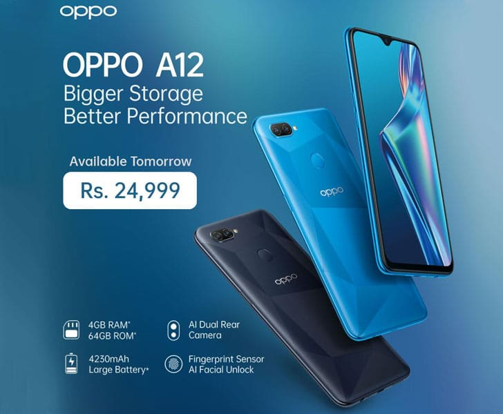 Oppo A12 Price In Pakistan 2020